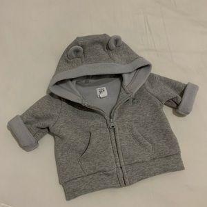 Baby Gap Grey Hoodie NWOT